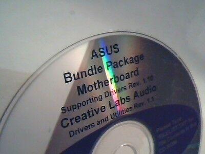 Driver Support Cd Asus Bundle Package Motherboard Creative Labs Audio Utilities