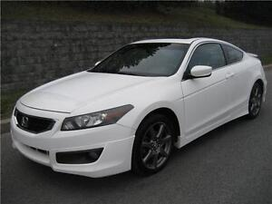 2010 HONDA ACCORD COUPE EX-L (MANUELLE, CUIR, TOIT, AIR, FULL!)