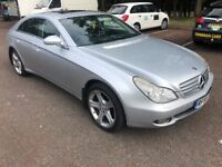mercedes cls diesel new mot full service history drives as it should