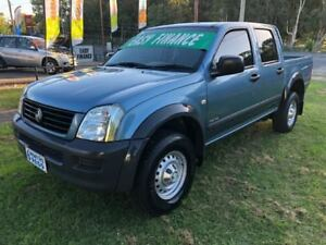2003 Holden Rodeo RA LX Blue & Black 5 Speed Manual Crew Cab Pickup Clontarf Redcliffe Area Preview