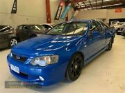 2005 Ford Falcon BA Mk II XR8 Blue Sports Automatic Utility Laverton North Wyndham Area Preview