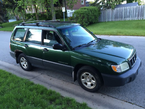 2002 Subaru Forester manual