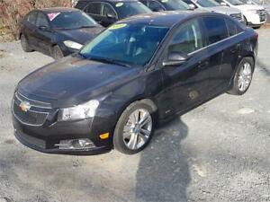 2014 Chevrolet Cruze RS w bluetooth/heated seats/backup cam