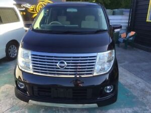 2006 Nissan Elgrand E51 X Black 5 Speed Automatic 5 DOORS 7 SEATS PEOPLE MOVER North Wollongong Wollongong Area Preview