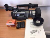 Sony DCR-VX2100E Professional Digital Video Camera with Conversion Lens