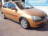 Vauxhall Corsa 1.2i 16v 2002 SXi S/H to Sept 2014 Full MOT