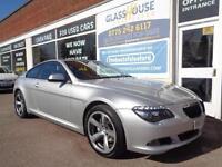 BMW 635 3.0TD auto 2009 d Sport Full S/H £4650 Extras Nav Sunroof P/X