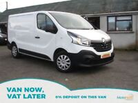 RENAULT TRAFIC 1.6 SL29 BUSINESS DCI S/R P/V 1d 115 BHP (white) 2014