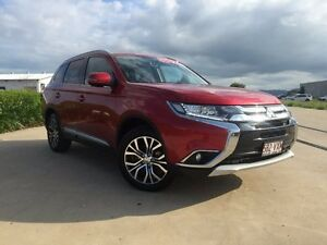 2015 Mitsubishi Outlander ZK MY16 LS 4WD Red 6 Speed Constant Variable Wagon Garbutt Townsville City Preview