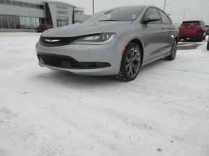 2015 Chrysler 200 S AB/SK SAFTIED & NO INSURANCE CLAIMS