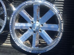 F/S 20 inch Incubus rims for newer 6 bolt ford F150