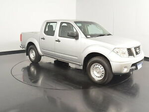2011 Nissan Navara D40 RX Silver 6 Speed Manual Utility Welshpool Canning Area Preview