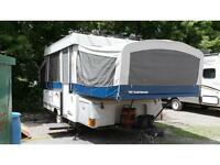 2007 FLEETWOOD CHEYENNE - FOLD DOWN TENT TRAILER, LIGHT WEIGHT