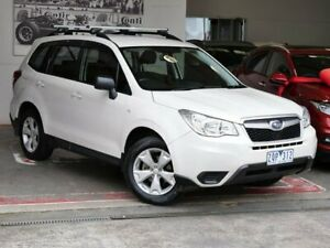 2013 Subaru Forester S4 MY13 2.0D AWD White 6 Speed Manual Wagon Doncaster Manningham Area Preview