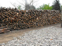 FIREWOOD - 128 Cubic Foot PROPER CORDED FIREWOOD