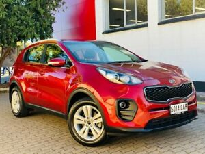 2017 Kia Sportage QL MY17 Si 2WD Fiery Red 6 Speed Sports Automatic Wagon Medindie Walkerville Area Preview