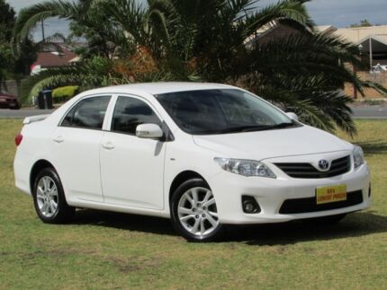 2012 Toyota Corolla ZRE152R MY11 Ascent Sport White 4 Speed Automatic Sedan Hendon Charles Sturt Area Preview