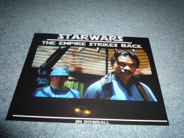 JIM DOWDALL signed autograph In Person 8x10 20x25 STAR WARS Empire Strikes Back