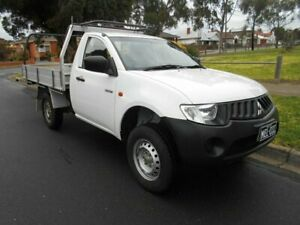 2008 Mitsubishi Triton GL White 5 Speed Manual Utility Preston Darebin Area Preview