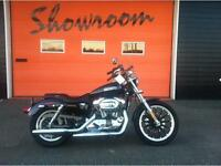 2009 Harley Davidson Sportster 1200 Low - ONLY 4393 MILES