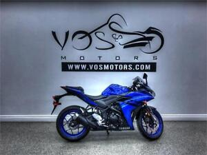 2018 Yamaha YZF R3 ABS-Stock#V2917NP-No Payments For 1 Year**