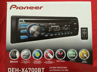 Pioneer , Bluetooth USB, AUX IPOD, IPHONE ...,Garante un ans
