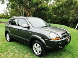 2009 Hyundai Tucson 08 Upgrade City SX Grey 4 Speed Automatic Wagon Southport Gold Coast City Preview