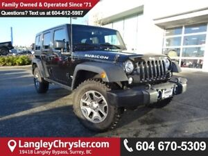 2017 Jeep Wrangler Unlimited Rubicon *ACCIDENT FREE * DEALER...