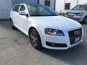 2009 AUDI A3 2.0T LEATHER,PANORAMIC ROOF/No accident