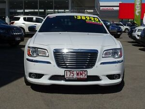 2014 Chrysler 300 LX MY14 C E-Shift White 8 Speed Sports Automatic Sedan Garbutt Townsville City Preview
