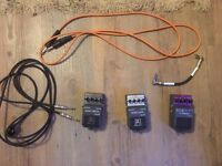Beta Alvin Heavy Metal HM-100/Noise Gate NG-100/Flanger FL-100