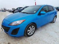 2011 MAZDA 3 HATCHBACK SPORT LOW PAYMENTS $88 BW YOU'RE APPROVED