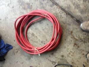 """50' of 3/8"""" 300psi air hose with couplers"""