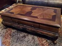 Wooden Coffee Table and Side Tables for SALE!