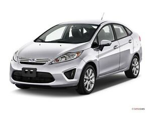 2011 Ford Fiesta Sedan with LOW KILOMETRES