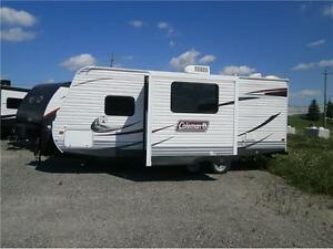 2013 COLEMAN 191 QB, OUTDOOR KITCHEN, DEEP SLIDE, $13995!! London Ontario image 2