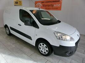 2012 Peugeot Partner 1.6HDi ( 75 ) 625 SE L1