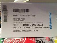 5 x Parklife Weekend Tickets