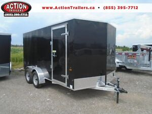 ALL ALUMINUM ENCLOSED CARGO 7X14 PRICED TO SELL QUICK !! London Ontario image 1