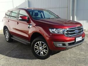 2018 Ford Everest UA II 2019.00MY Trend RWD Red 10 Speed Sports Automatic Wagon Bundoora Banyule Area Preview