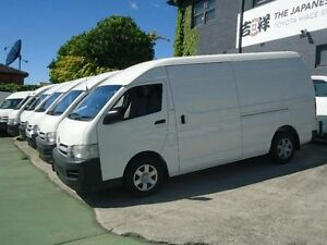 2009 Toyota Hiace KDH221R MY07 Upgrade SLWB White 4 Speed Automatic Van Canada Bay Canada Bay Area Preview