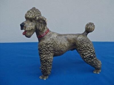 VINTAGE BREYER GREY POODLE DOG