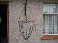 Metal Hanging Basket.