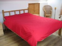 Lovely bedroom in clean, professional house. Great area and location