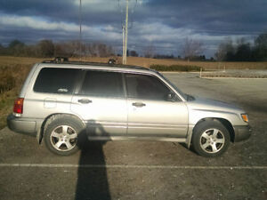 2000 Subaru Forester S AWD Wagon - reduced $2000 AS IS obo.