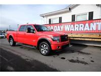 LOW KM - FULLY LOADED - 2013 Ford F-150 FX4 $39,965