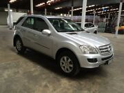 2006 Mercedes-Benz ML W164 320 CDI Luxury (4x4) Silver 7 Speed Automatic G-Tronic Wagon Ottoway Port Adelaide Area Preview