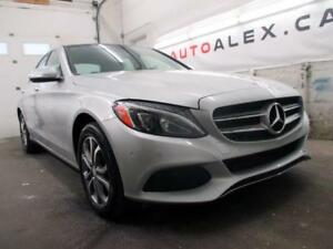 2015 Mercedes C300 NAVIGATION 4MATIC TOIT PANORAMIQUE *87$/SEM*