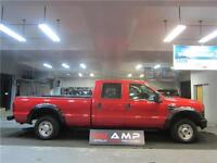 2010 Ford Super Duty F-250 4x4 gas 5.4 8ft CREW CERTIFIED