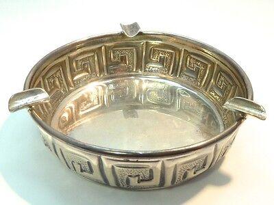 Aschenbecher 900 SILBER silver ashtray plata cenicero argent cendrier argento